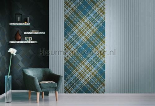 Royal Tartan fotobehang 24290 Modern - Abstract Hookedonwalls