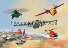 Planes fotobehang Kleurmijninterieur Disney---Pixar
