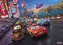 cars race fotobehang Komar Disney Edition 3 4-401