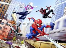 spider man friendly neighbours fotobehang Komar Disney Edition 3 4-4027