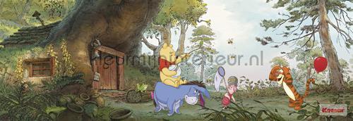 poohs house fotobehang 4-413 Disney Edition 3 Komar