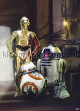 star wars three droids fotobehang Komar Disney Edition 3 4-447