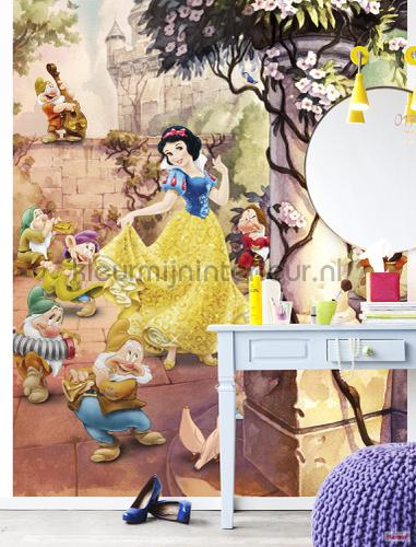 dancing snow white photomural 4-494 Disney Edition 3 Komar