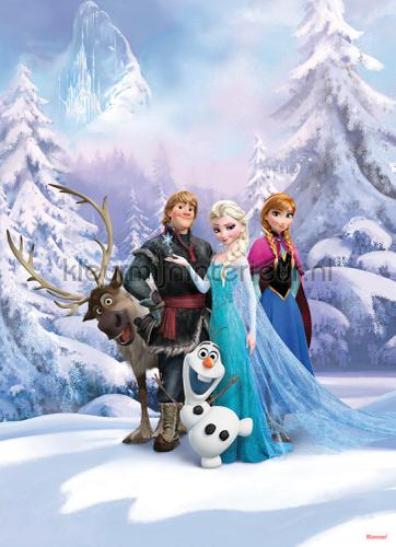frozen winter land fotobehang 4-498 Disney Edition 3 Komar