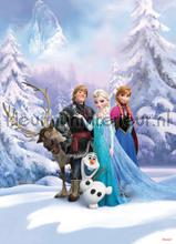 frozen winter land fotobehang Komar Disney Edition 3 4-498