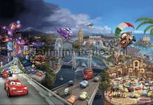 cars world fotomurais Komar Disney Edition 3 8-400