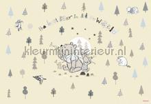 winnie pooh best bear fotobehang Komar Disney Edition 3 8-4024