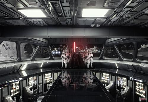 star wars destroyer deck fotobehang 8-445 Disney Edition 3 Komar