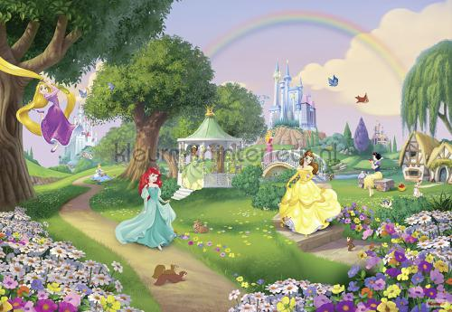 disney princess rainbow photomural 8-449 Disney Edition 3 Komar