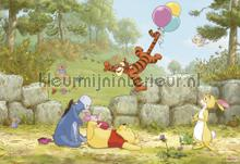 winnie pooh ballooning fotobehang Komar Disney Edition 3 8-460