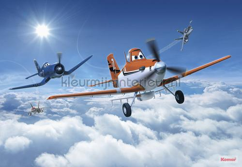 planes above the clouds fotobehang 8-465 Disney Edition 3 Komar