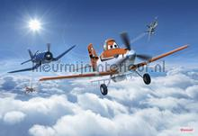 planes above the clouds fotobehang Komar Disney Edition 3 8-465