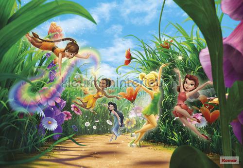 fairies meadow photomural 8-466 Disney Edition 3 Komar