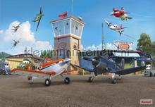 planes terminal fotobehang Komar Disney Edition 3 8-469