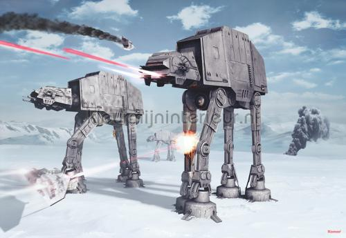star wars battle of hoth fotobehang 8-481 Disney Edition 3 Komar