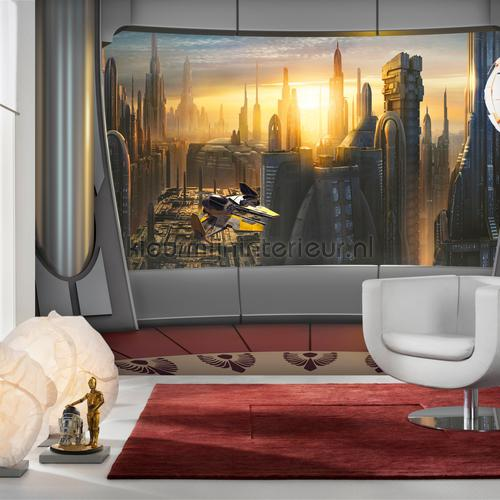 star wars coruscant view fotomurais 8-483 Disney Edition 3 Komar