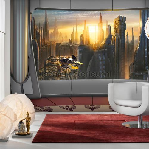 star wars coruscant view photomural 8-483 Disney Edition 3 Komar