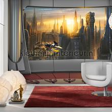 star wars coruscant view fotobehang Komar Disney Edition 3 8-483