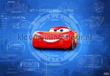 cars 3 blueprint fotobehang Komar Disney Edition 3 8-488