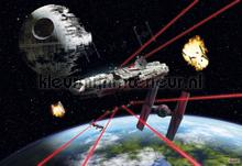 Star wars millenium falcon fotomurais Komar selva