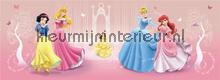 Four princess fotobehang Kleurmijninterieur Disney---Pixar
