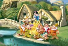 Snow white and seven dwarfs fotobehang Kleurmijninterieur Disney---Pixar