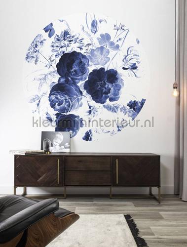 royal blue flowers photomural ck-001 Flowers - Plants Kek Amsterdam