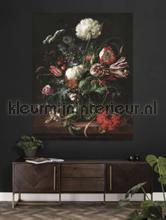 Golden age flowers fotobehang Kek Amsterdam York Wallcoverings