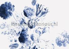 royal blue flowers photomural Kek Amsterdam Flora en Fauna wp-224