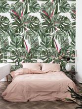 Botanical leaves fotobehang Kek Amsterdam York Wallcoverings