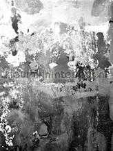 Charcoal fotobehang Rebel Walls Modern Abstract