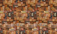 Vintage Books Cover fototapet Rebel Walls Frontage r12861