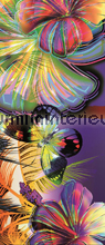 Colorful butterflies fotobehang Kleurmijninterieur Grafisch Abstract