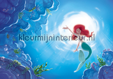 Little mermaid Ariel fotobehang Kleurmijninterieur Kinderkamer-meisjes