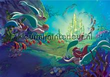 Little mermaid underwater kingdom fotobehang Kleurmijninterieur Disney---Pixar