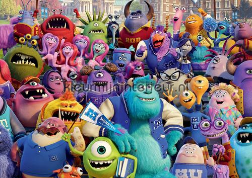 Monsters fotomurales 523-VE L Girls Kleurmijninterieur
