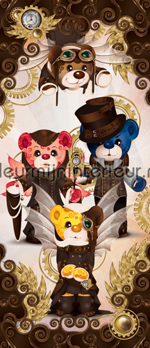 Rainbow bears fotomurales 2583-VE T Girls Kleurmijninterieur