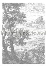 Engraved Landscapes photomural Kek Amsterdam Golden Age Flowers WP-315