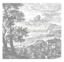 Engraved Landscapes photomural Kek Amsterdam Golden Age Flowers WP-320