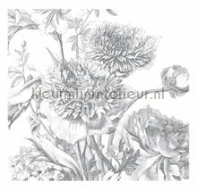 Engraved Flowers photomural Kek Amsterdam Golden Age Flowers WP-334