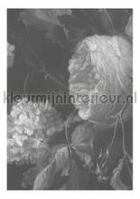 Black & White Flowers photomural Kek Amsterdam Golden Age Flowers WP-340