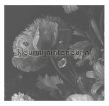 Black & White Flowers photomural Kek Amsterdam Golden Age Flowers WP-342