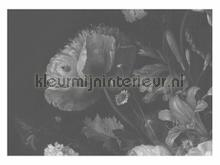 Black & White Flowers photomural Kek Amsterdam Golden Age Flowers WP-345