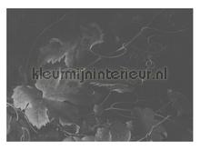 Black & White Flowers photomural Kek Amsterdam Golden Age Flowers WP-347