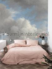 Golden Age Clouds fotomurais Kek Amsterdam PiP studio wallpaper
