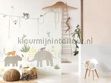 panoramique jungle fotomurales hpdm82994343 habitación recién nacido Casadeco