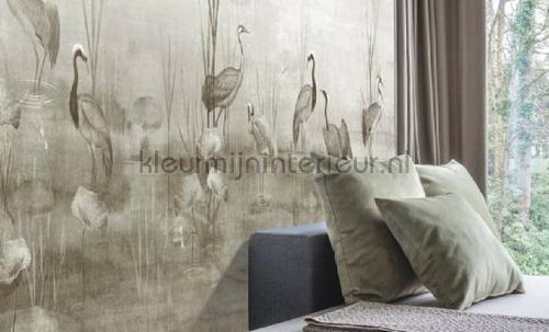 waterside sand fotobehang dgium1022 Oosters - Trompe loeil Khroma