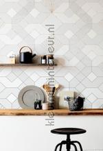 Coquilles blanches papier murales Komar PiP studio wallpaper