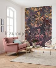 Orient violet fotobehang Komar Oosters Trompe loeil