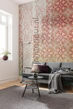 Art nouveau rouge fotobehang Komar York Wallcoverings